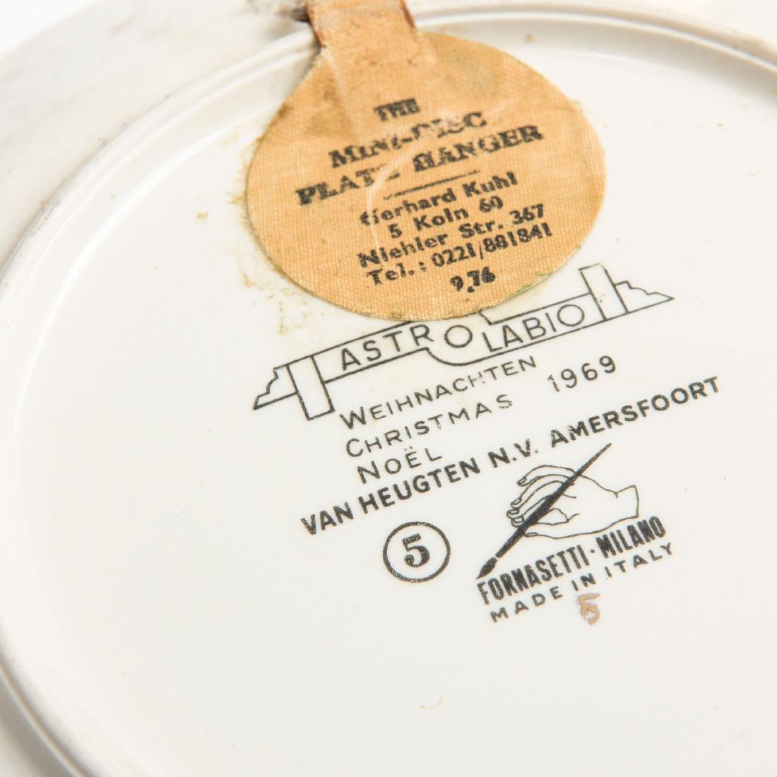 Six 'Astrolabio' plates, 1965 - 3