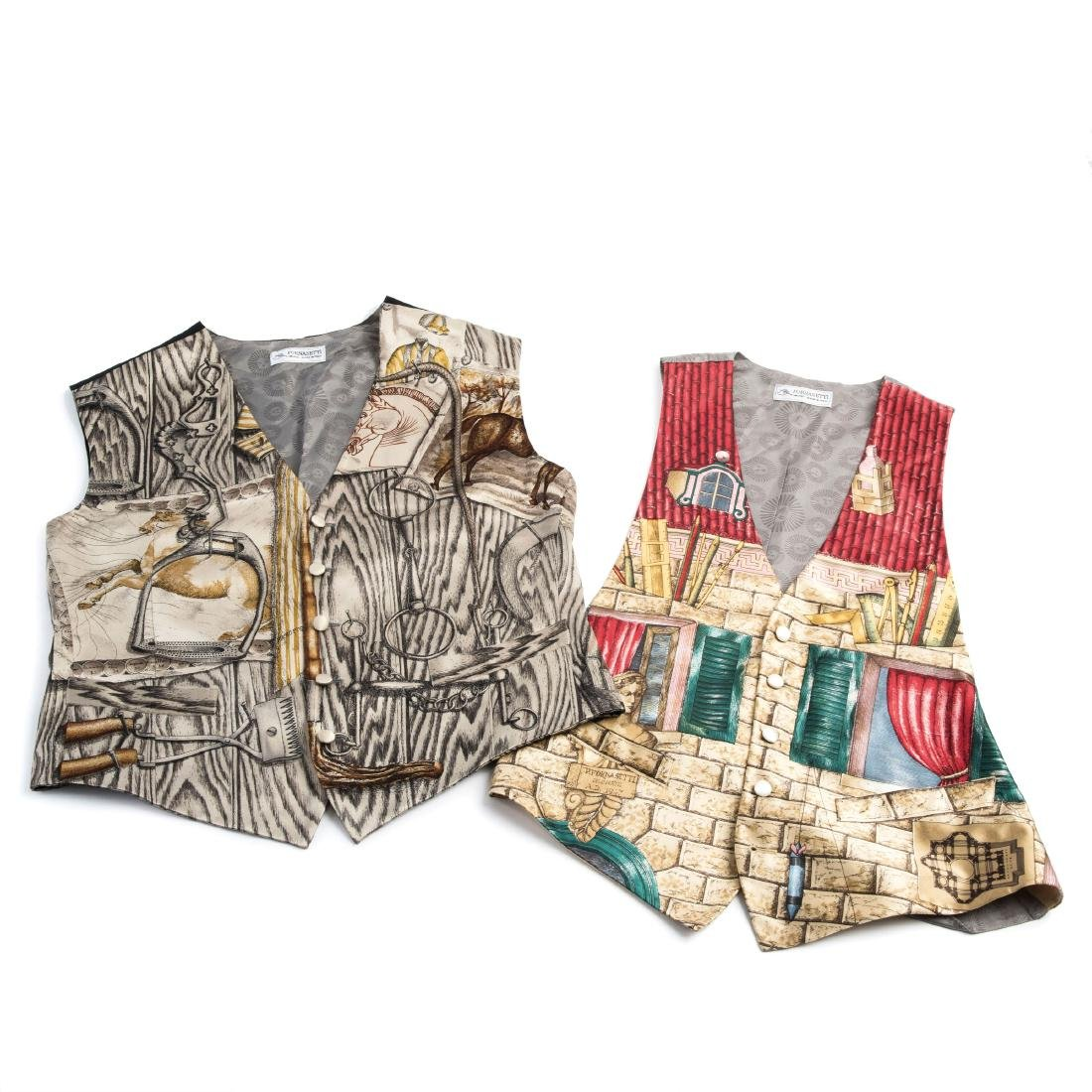 Two waistcoats, 'Architetto' and 'Cavallo', 1990s