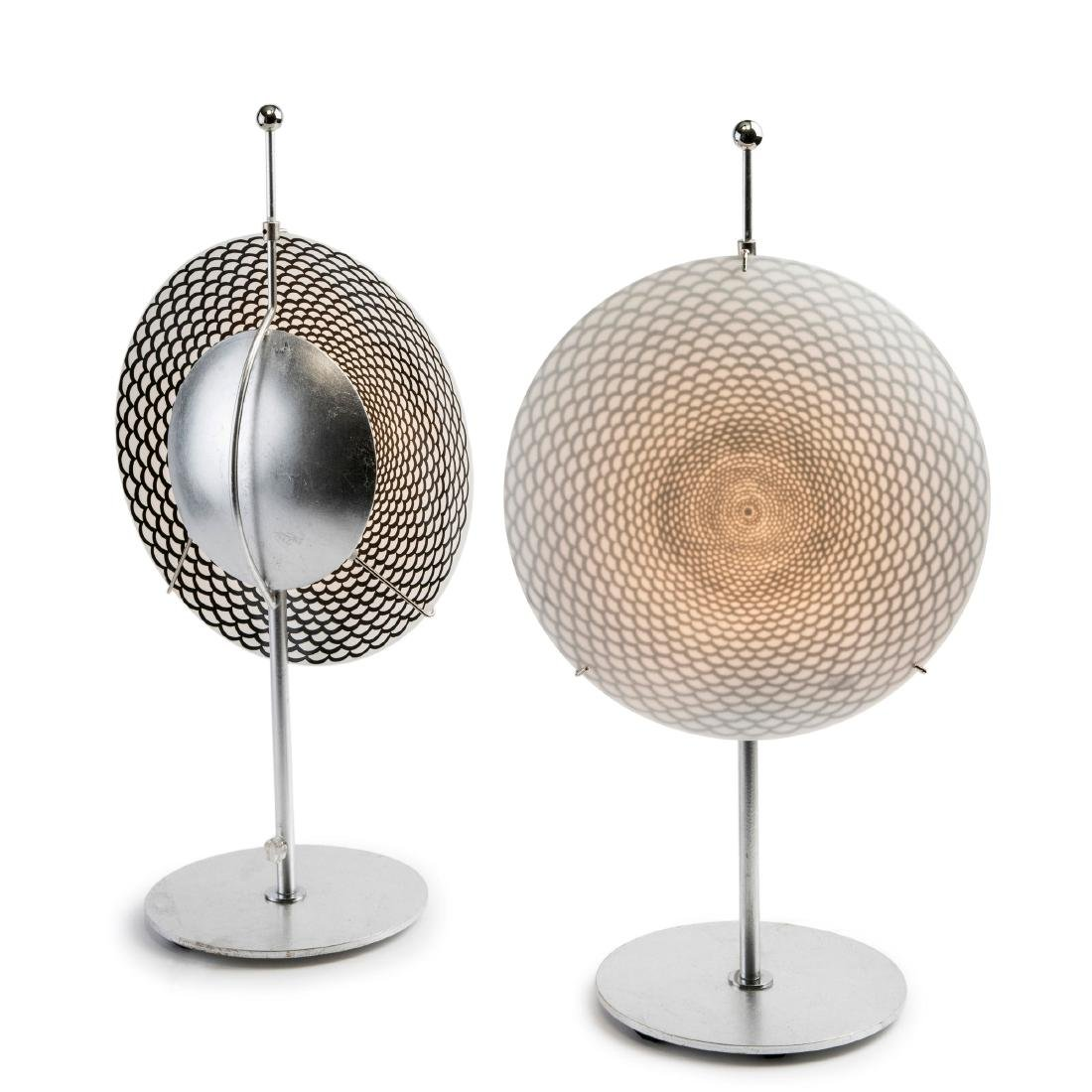 Two 'Ottica' table lights, c. 1995