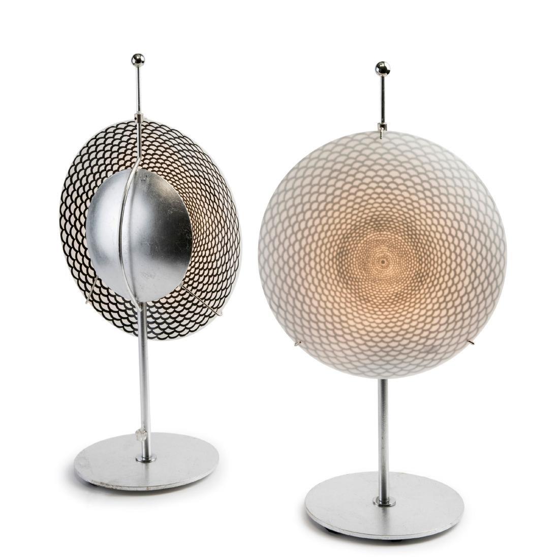 Two 'Ottica' table lights, c. 1995