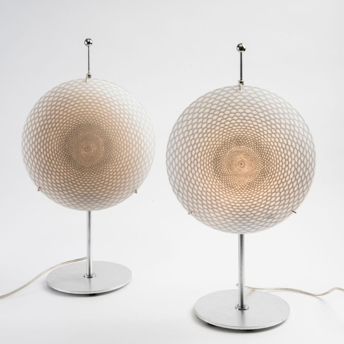Two 'Ottica' table lights, c. 1995 - 2