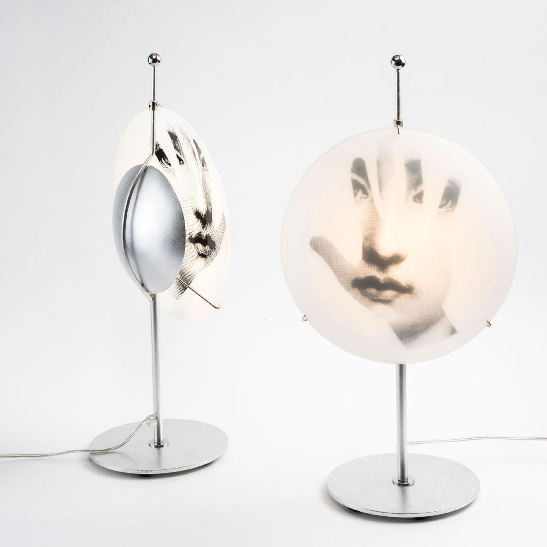 Two 'Tema e Variazioni' - 'Mani' table lights, c. 1995 - 3