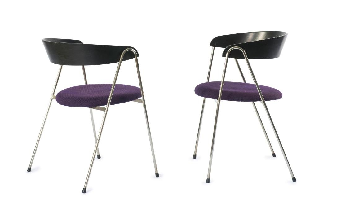 Two '702/2' armchairs, 1961