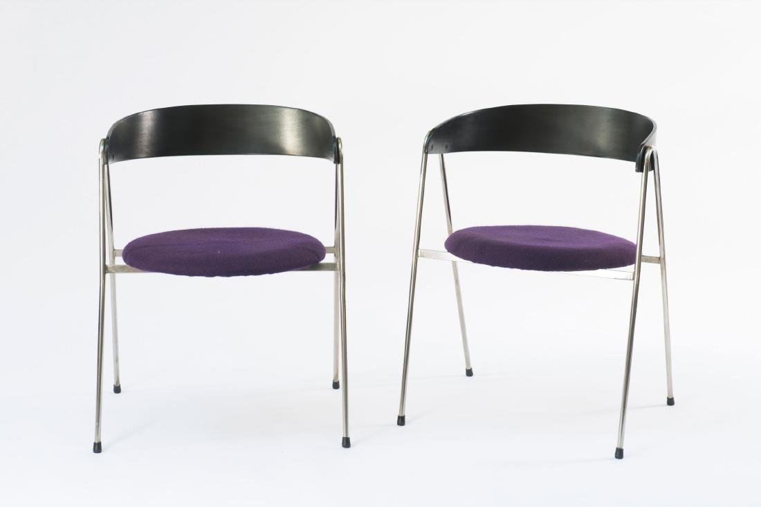 Two '702/2' armchairs, 1961 - 2