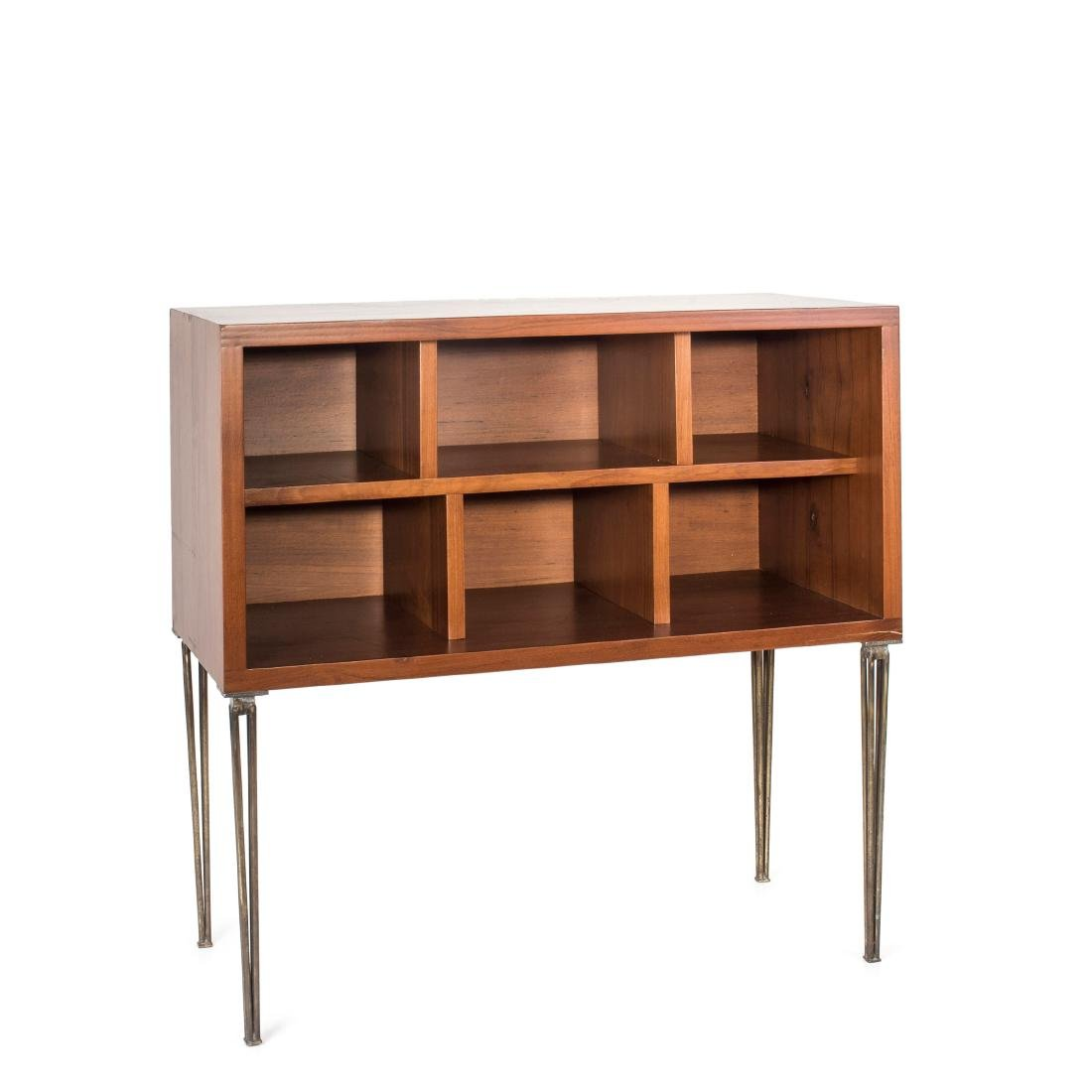 Console table with shelves, c. 1960