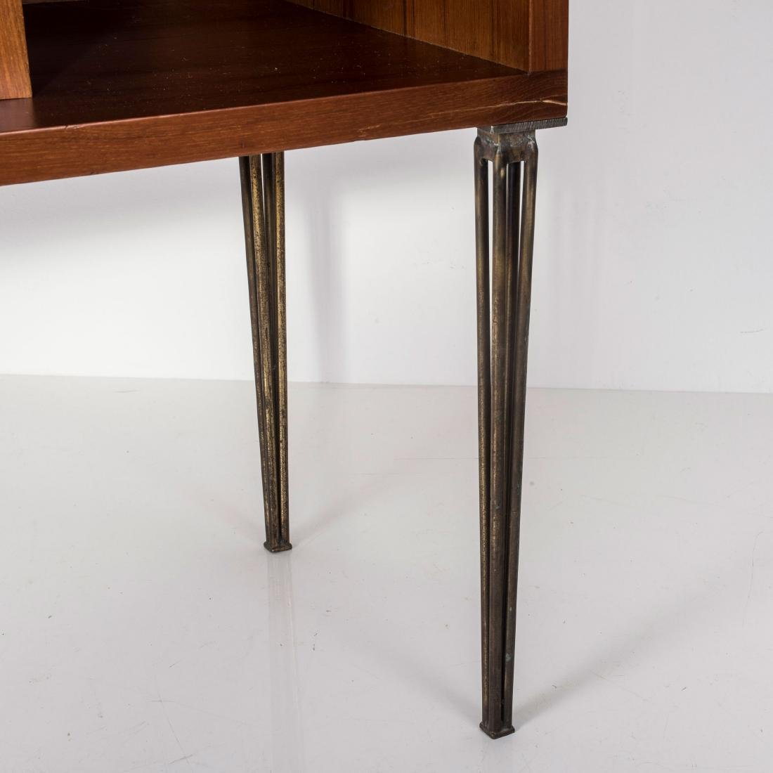 Console table with shelves, c. 1960 - 2