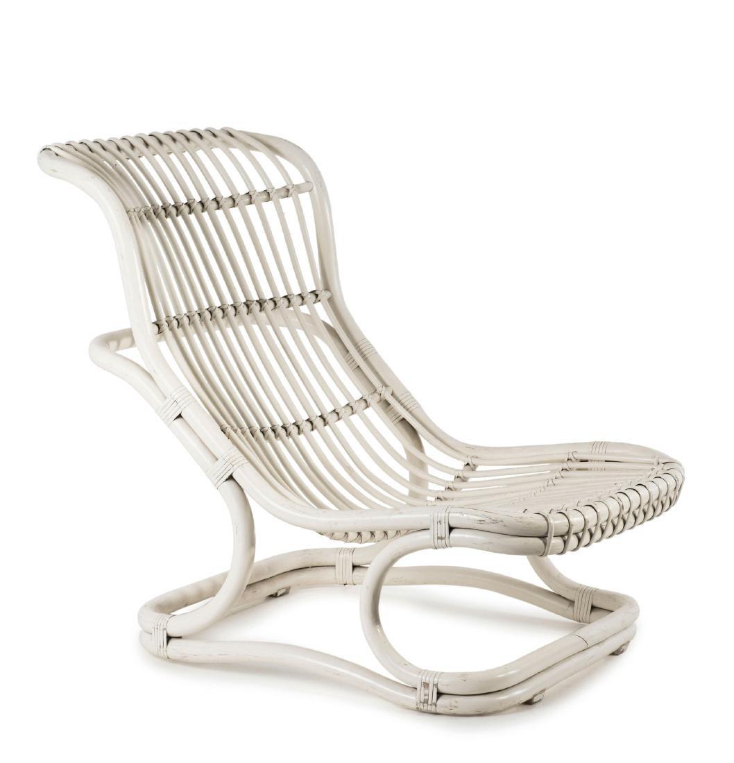 'Punto e Virgola' wicker chair, 1960s