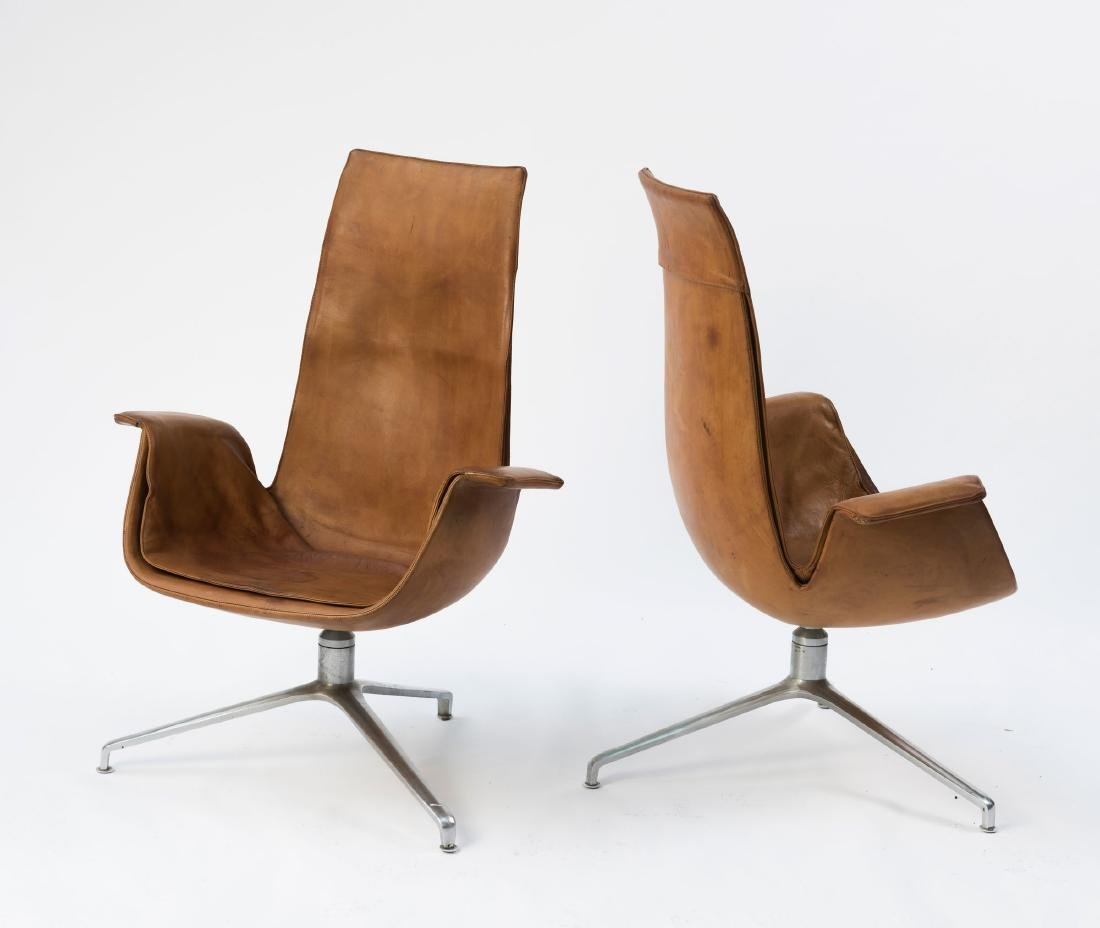 Two highback 'FK 6725' desk chairs, 1964 - 3