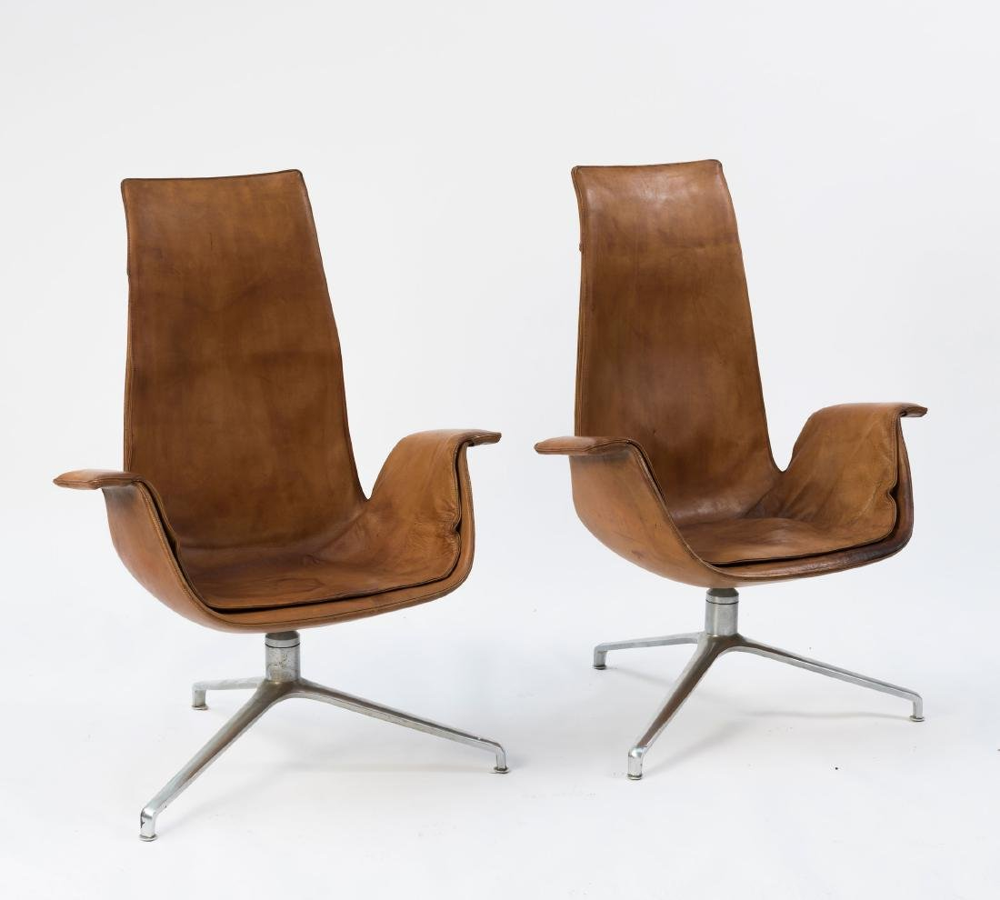 Two highback 'FK 6725' desk chairs, 1964 - 5