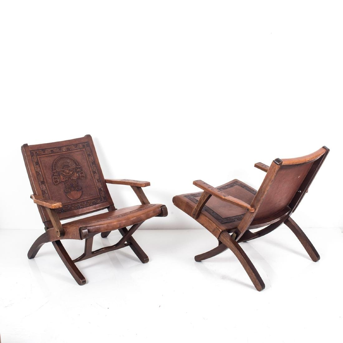 Two folding chairs, 1960s - 2