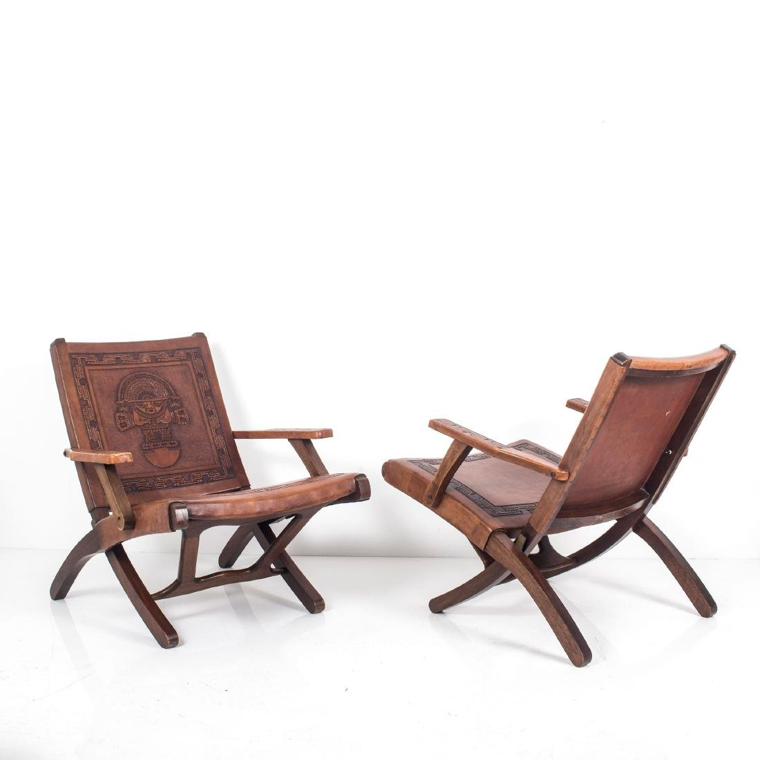 Two folding chairs, 1960s - 3