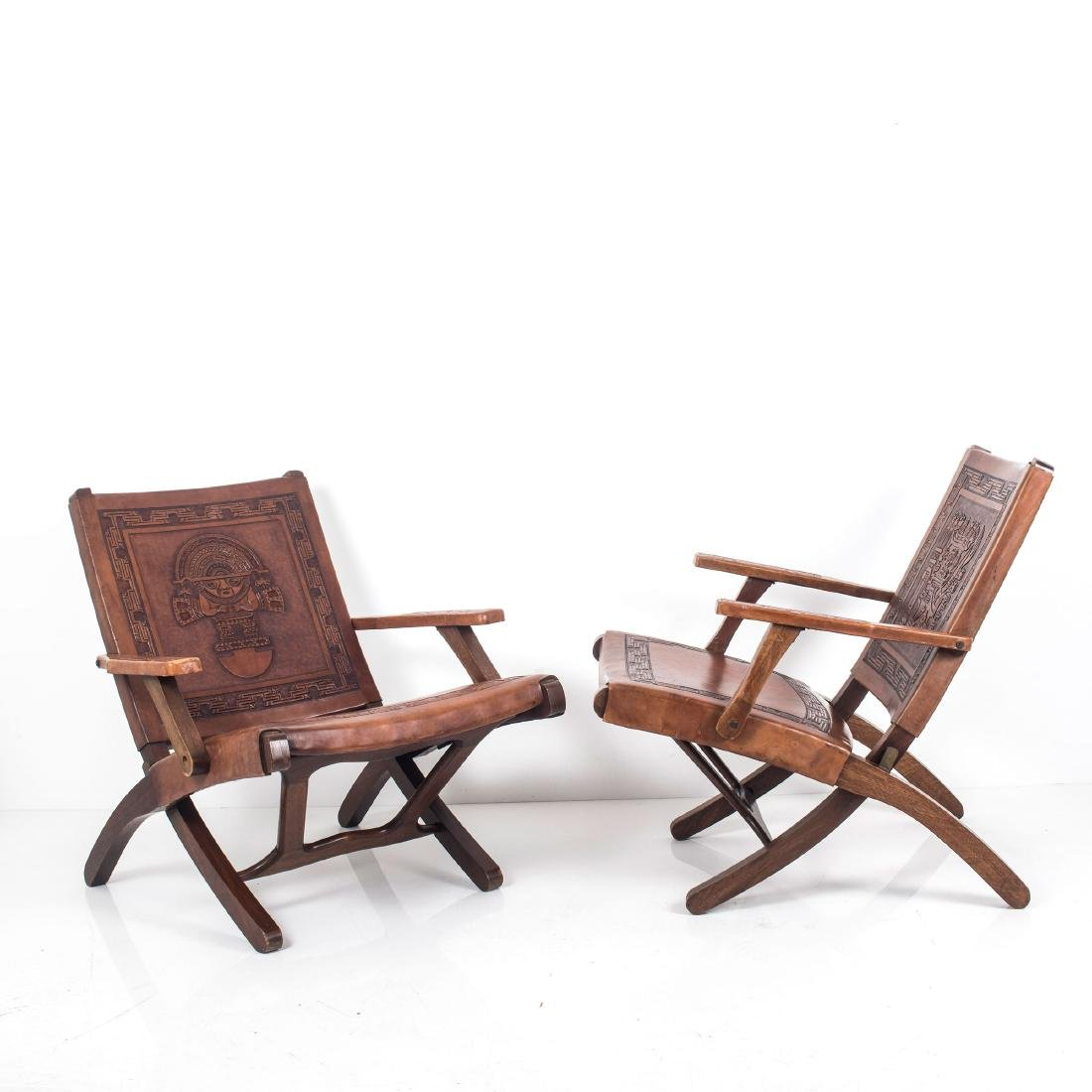Two folding chairs, 1960s - 7