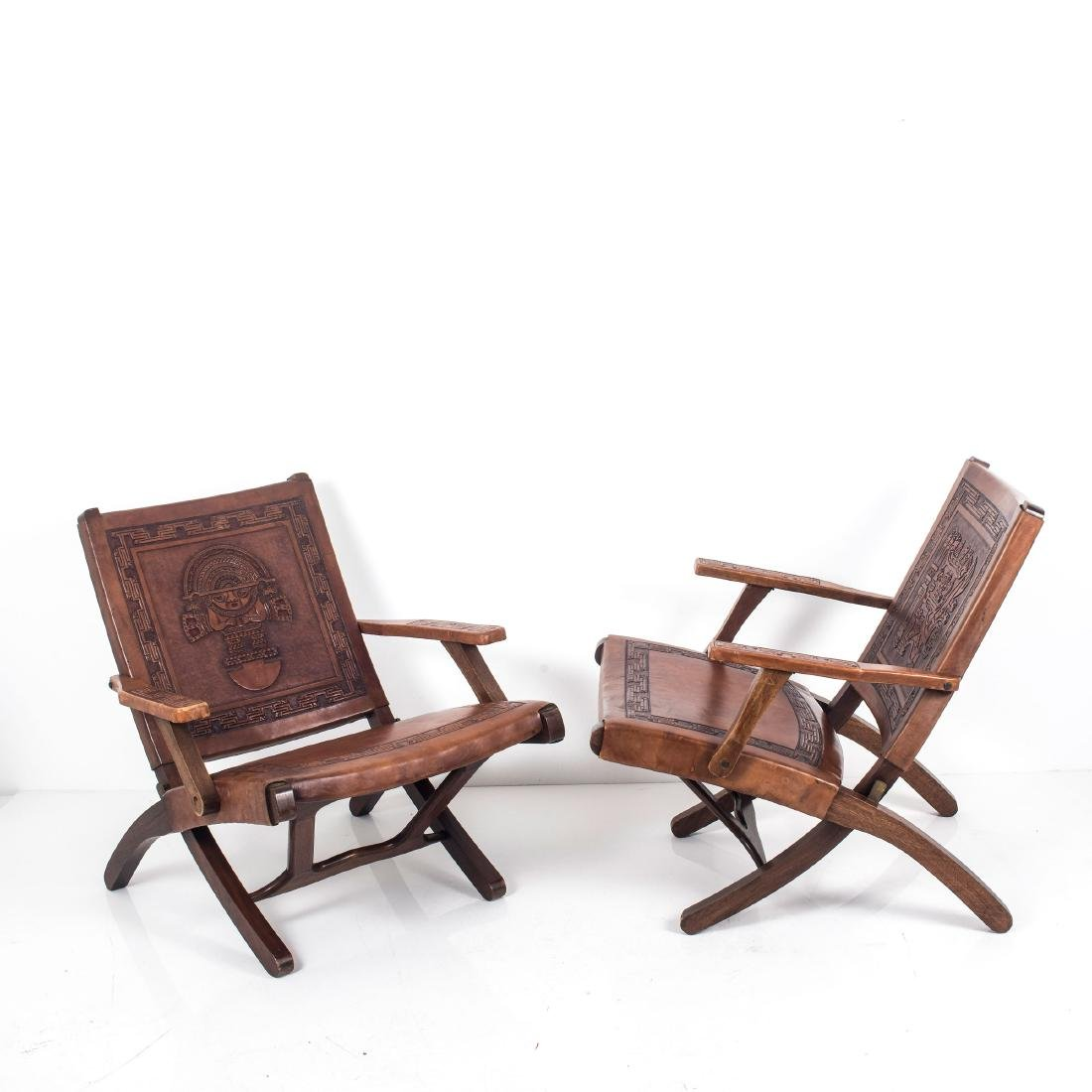 Two folding chairs, 1960s - 9