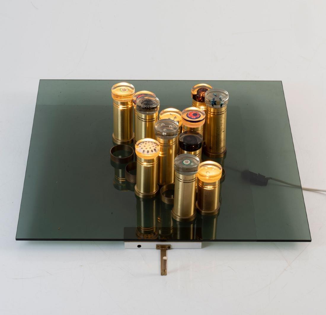 Illuminated wall object, c. 1965 - 4