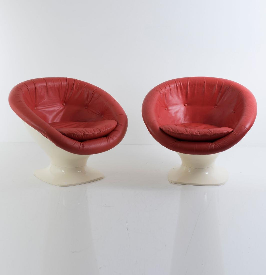 Two easy chairs, c. 1967 - 2
