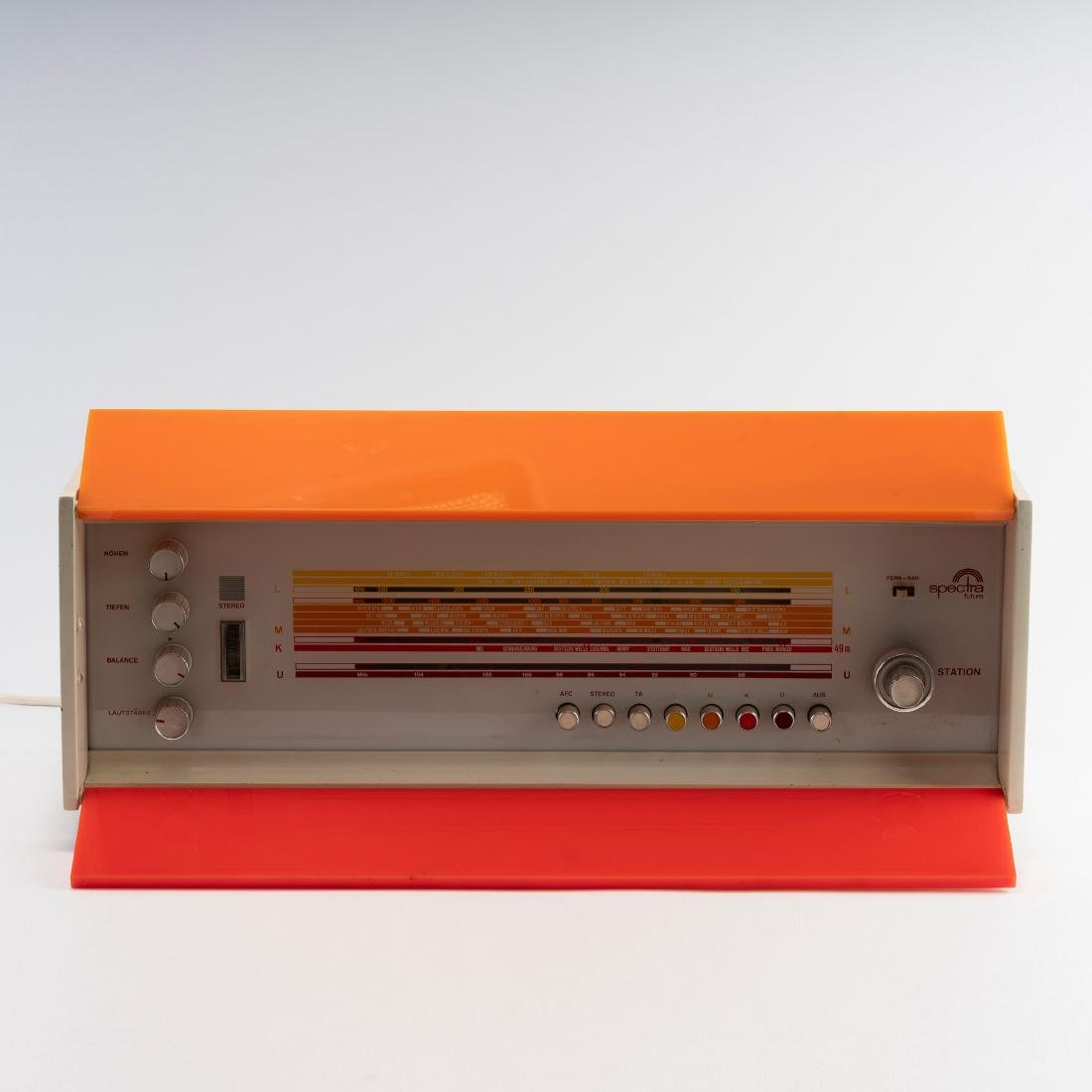 'Spectra Futura' - 'ST 969' radio, 1968/69 - 2