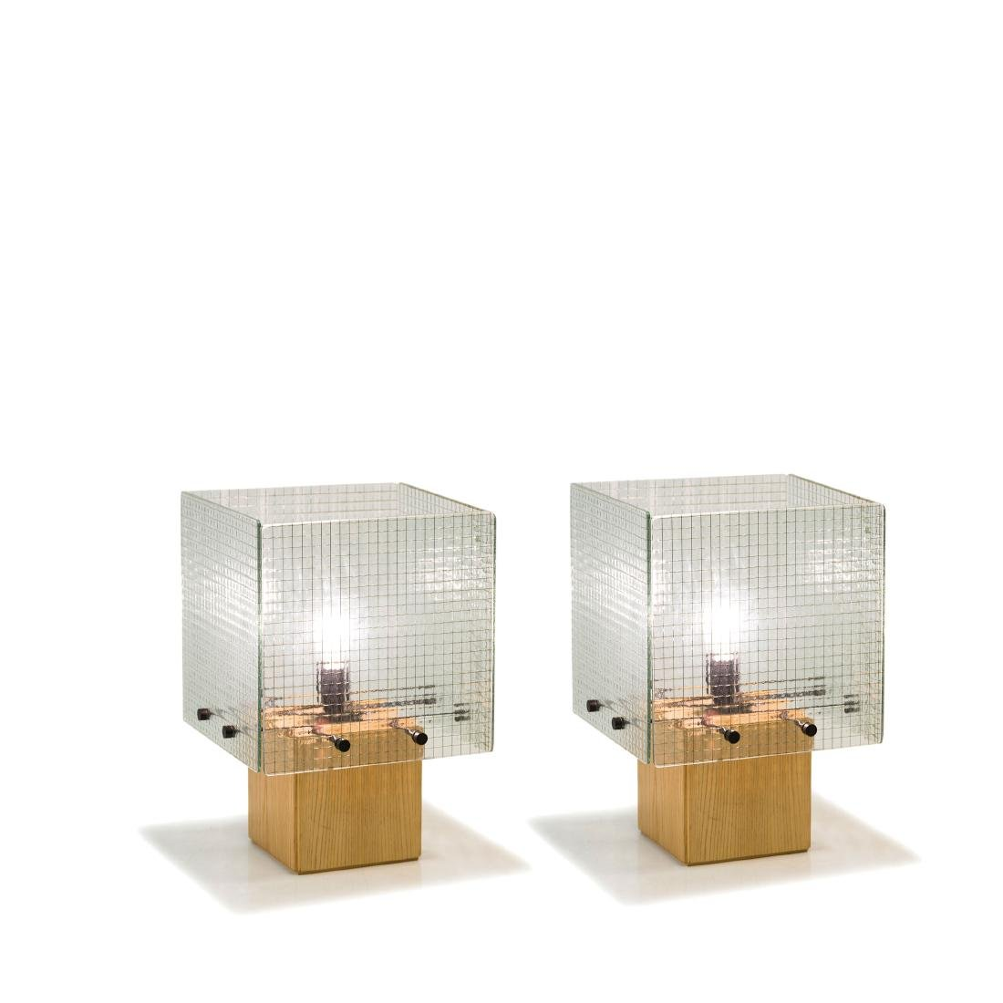 Two table lights, c. 1968