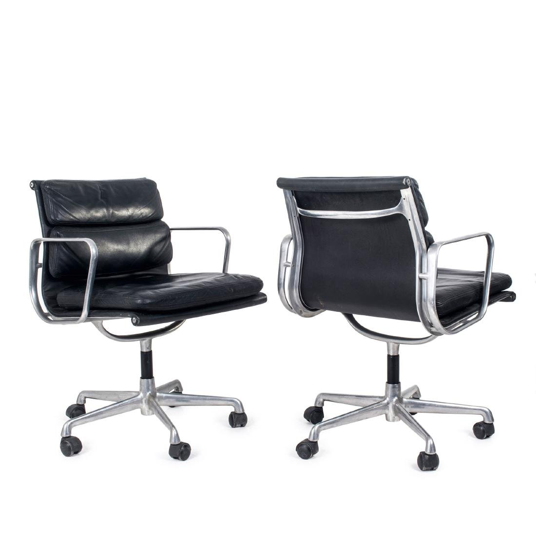 Two 'Soft Pad Group' desk chairs, 1969
