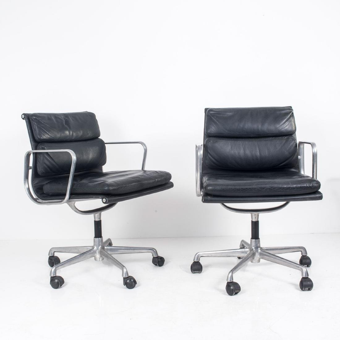 Two 'Soft Pad Group' desk chairs, 1969 - 2