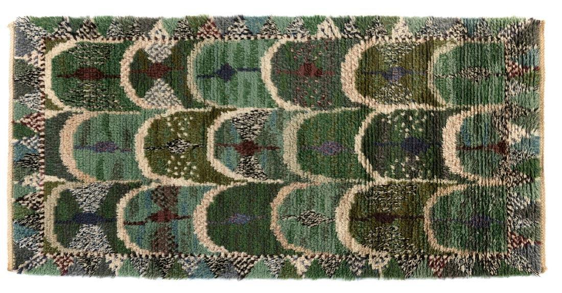 Rya carpet 'green feather', 1947