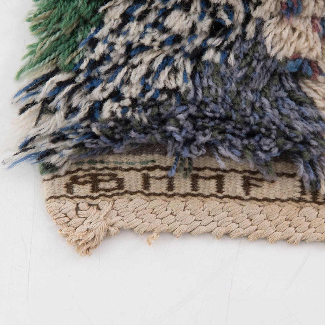 Rya carpet 'green feather', 1947 - 2