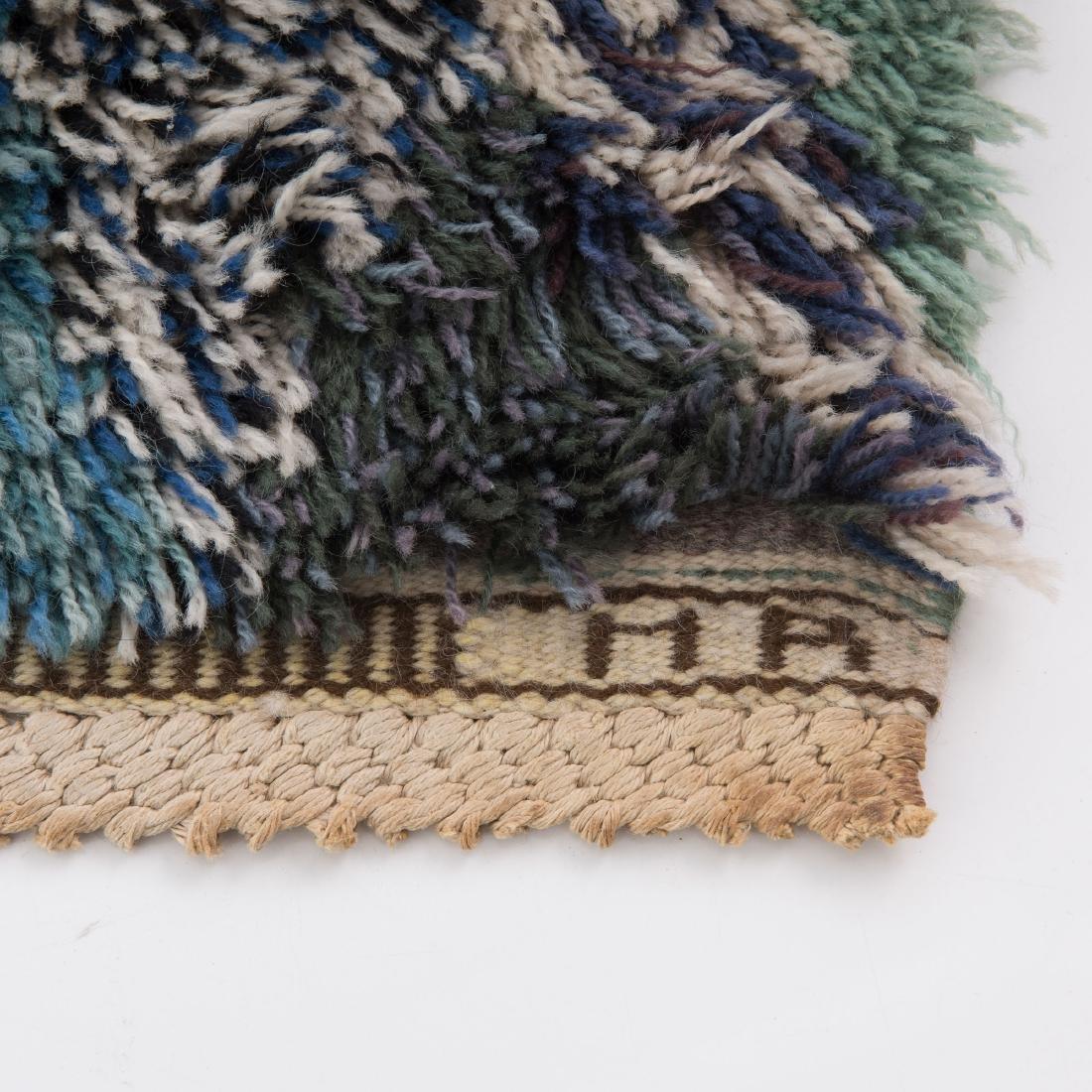 Rya carpet 'green feather', 1947 - 3