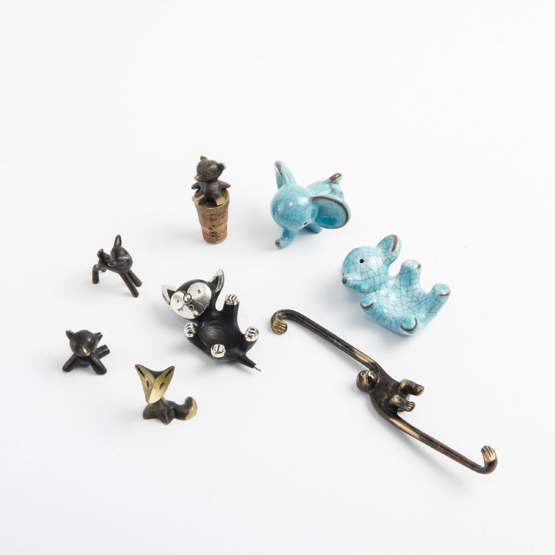 Animal figurines, 1950-56 - 2
