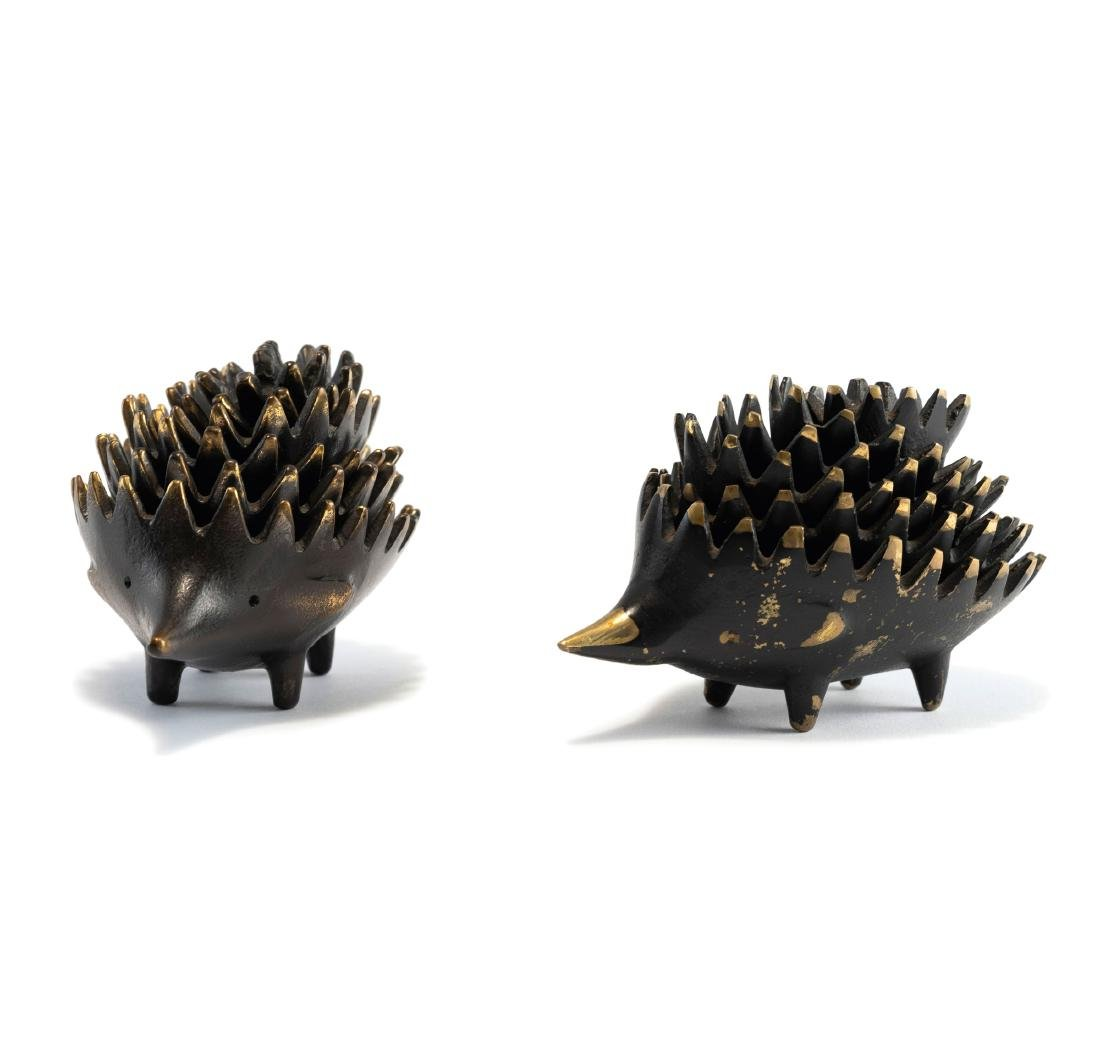 Two 'Hedgehog' ashtray sets, c. 1965