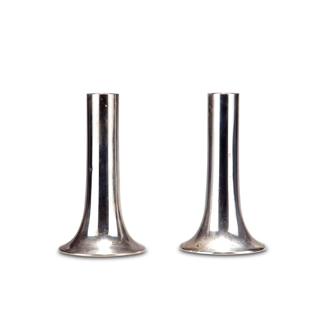 Pair of candlesticks, c. 1960