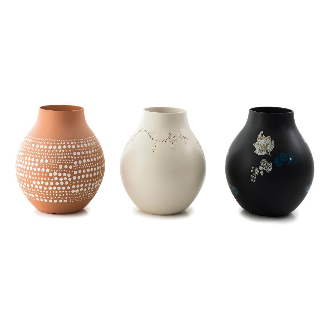 Three 'IKEA' vases, 2005