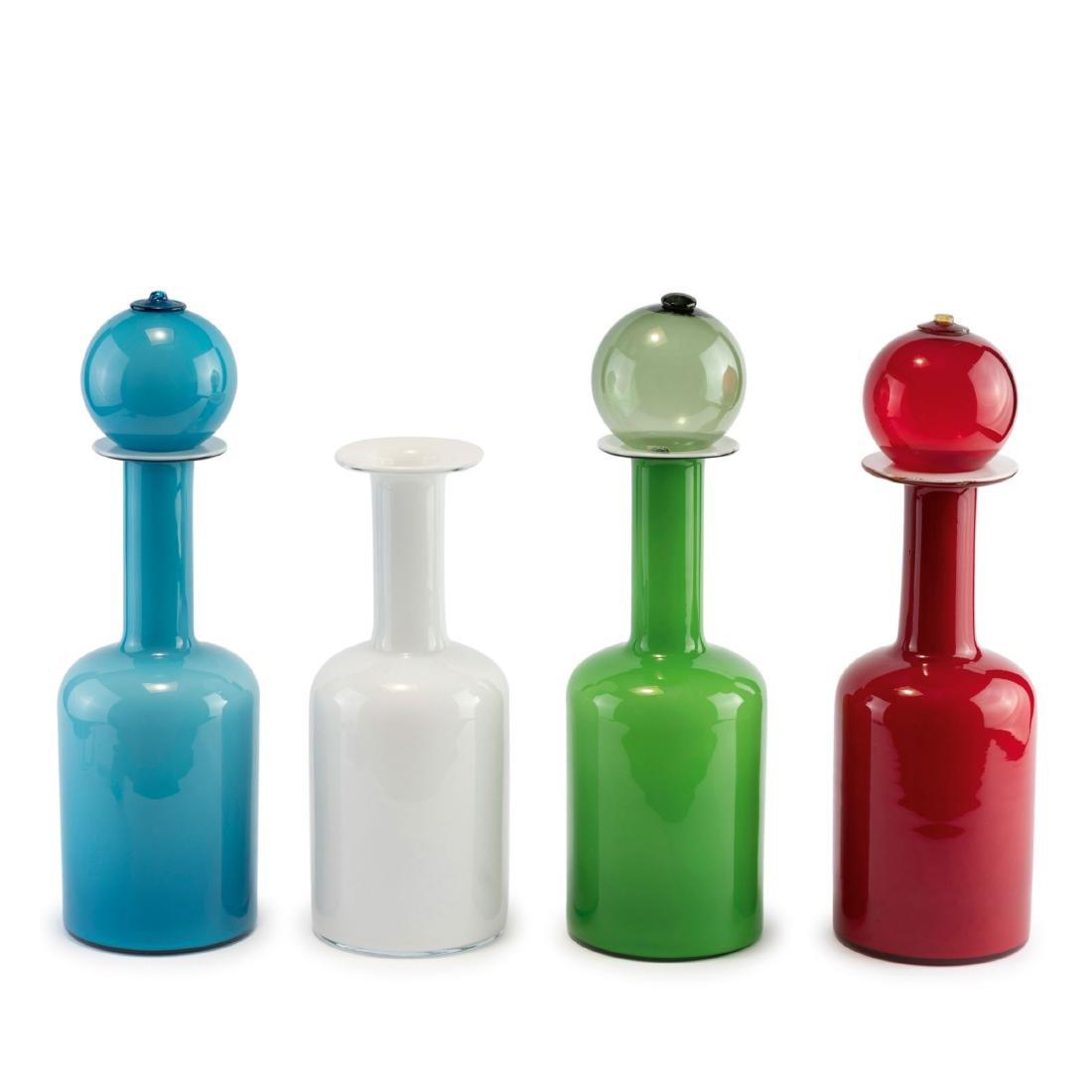 Four bottles, 1950s