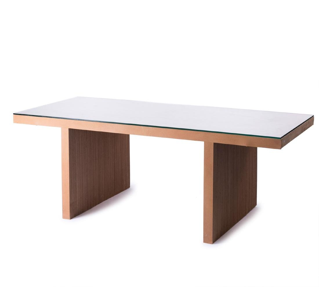 'Easy Edges' table, 1972