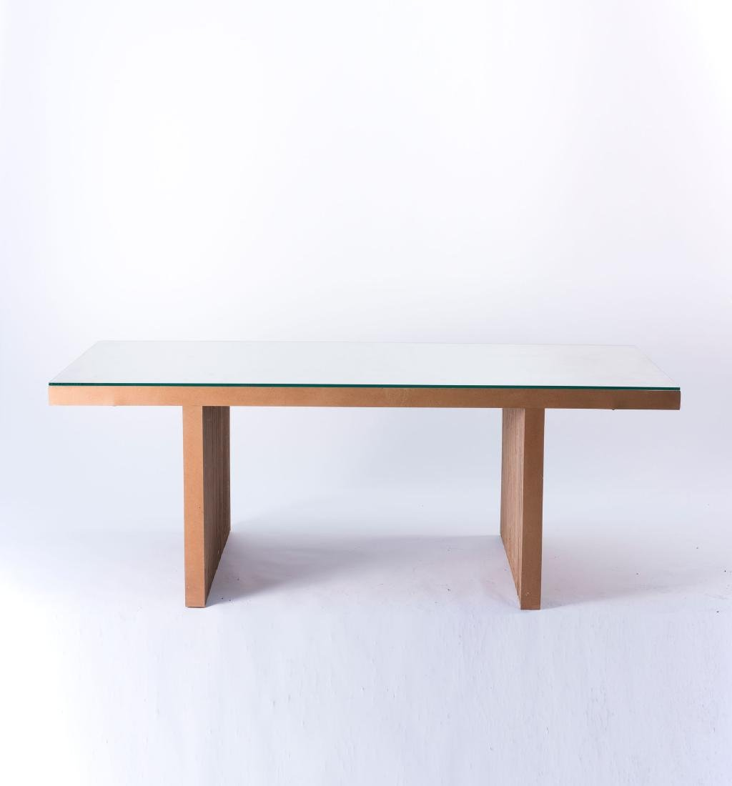 'Easy Edges' table, 1972 - 2