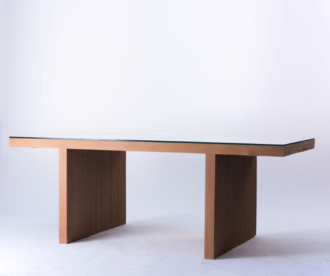 'Easy Edges' table, 1972 - 3