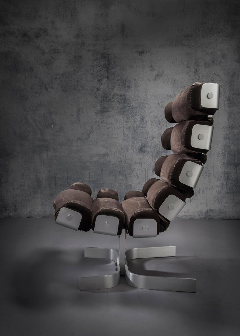 'Vertebrae chair', 1972