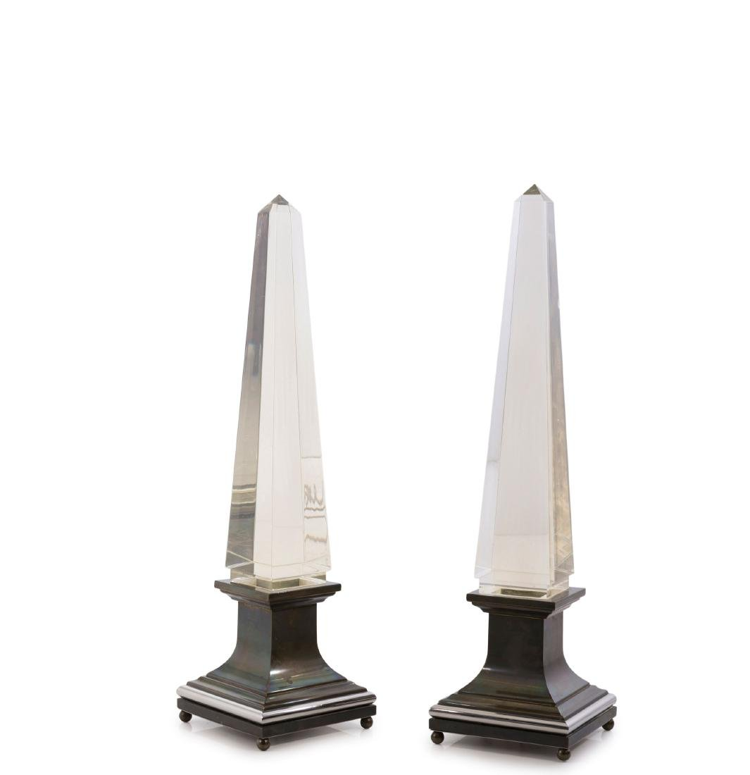 Two table lights, 1970s