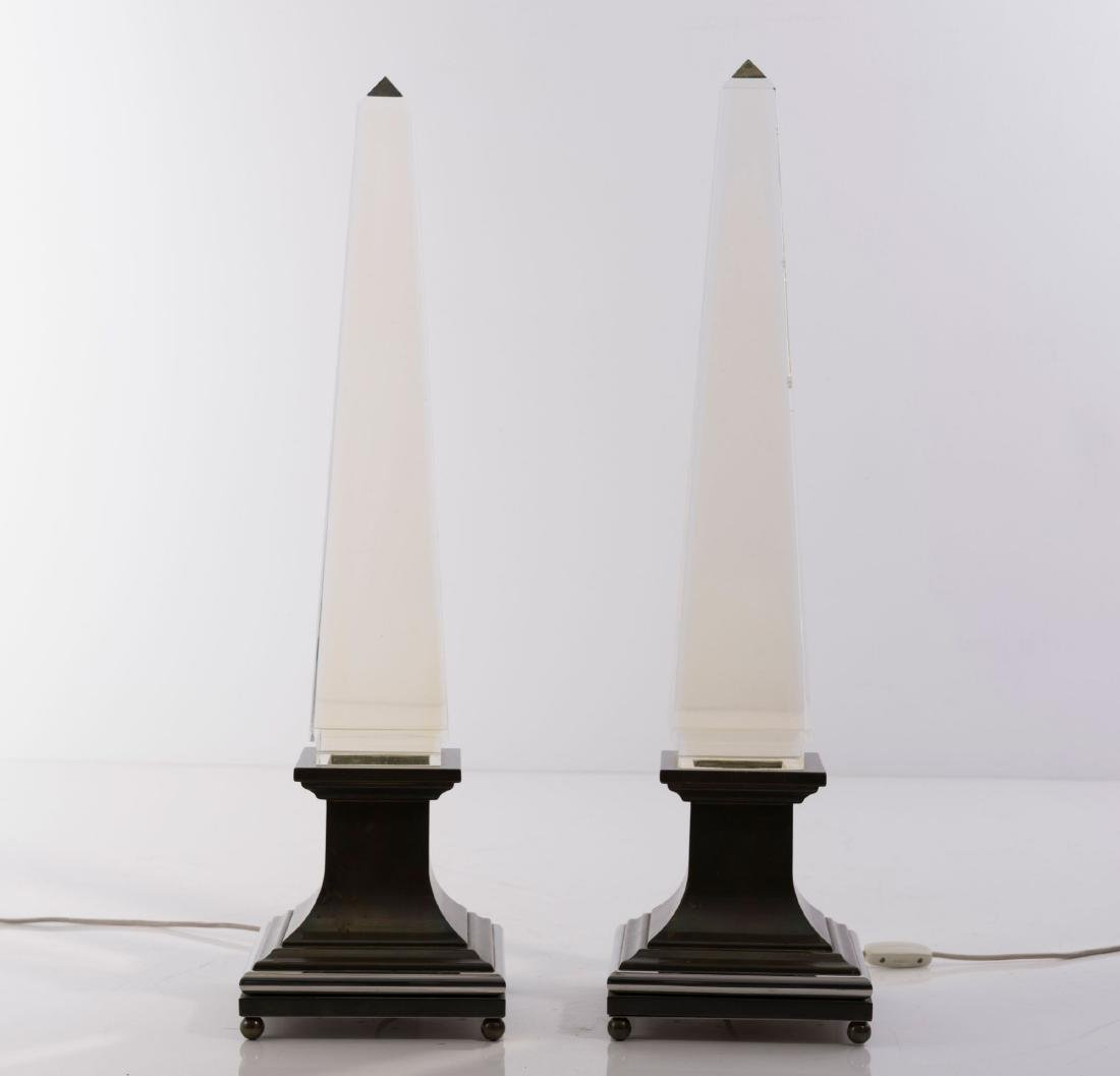 Two table lights, 1970s - 2