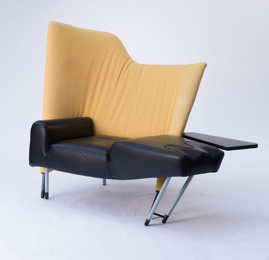 'Torso' lounge chair with ottoman, 1982 - 2