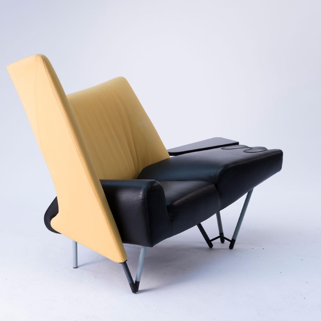 'Torso' lounge chair with ottoman, 1982 - 3