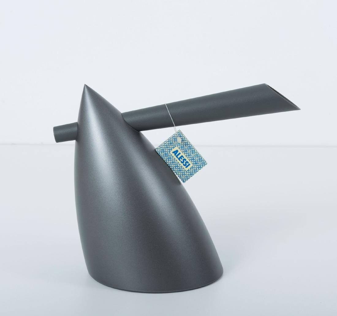 Five objects: 'Hot Bertaa' kettle, 1987, 'Shark' frame, - 6