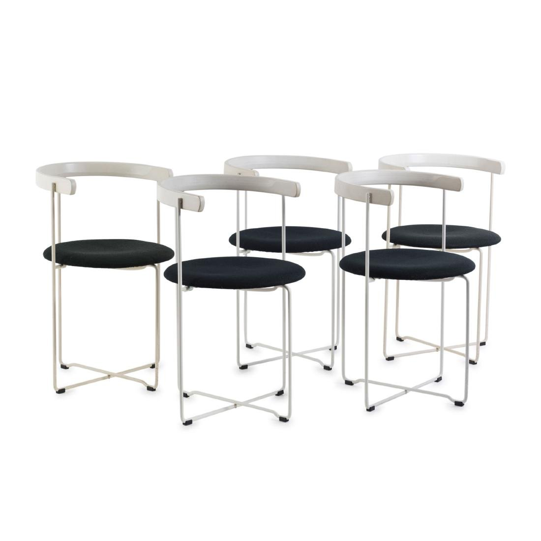 Five 'Sóley' folding chairs, 1983/84