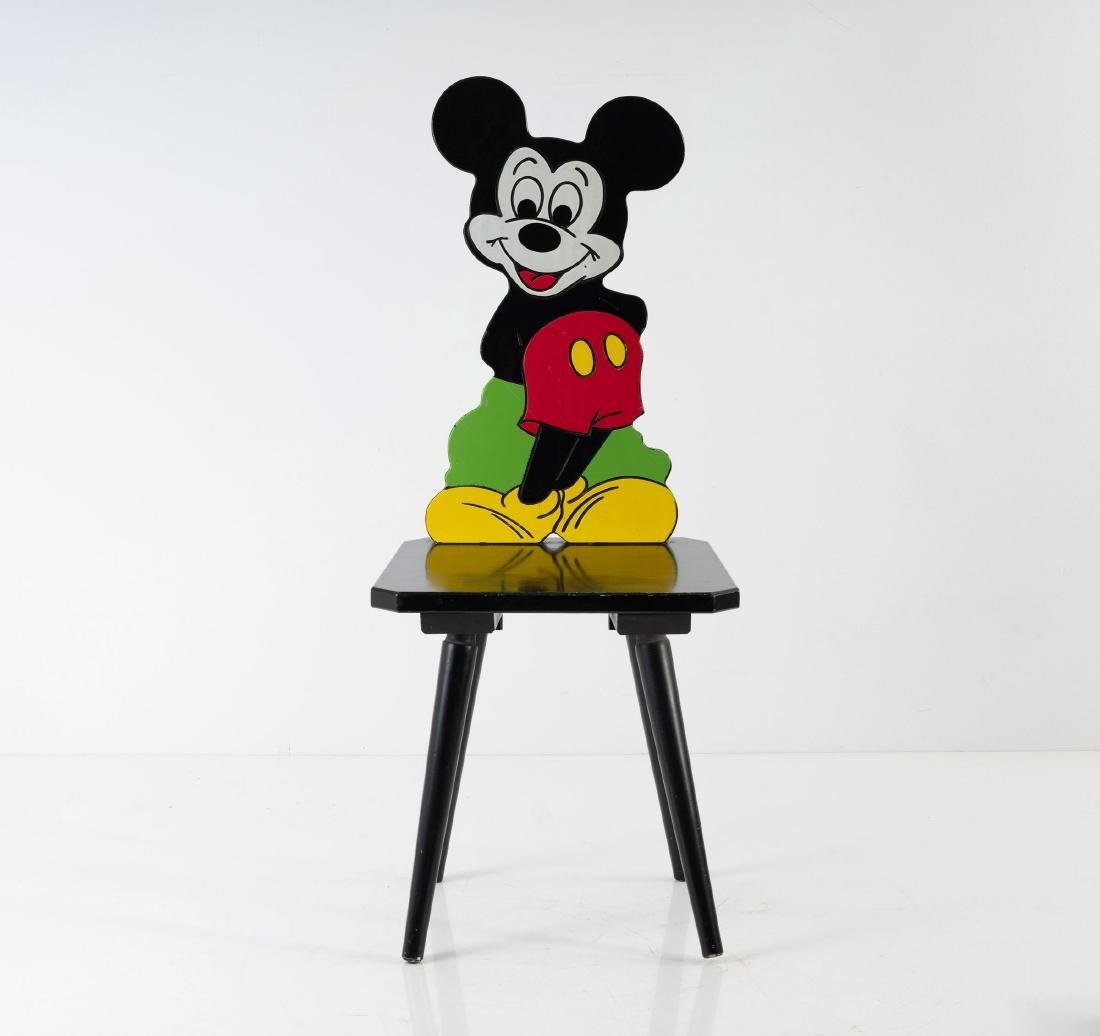 'Mickey Mouse' chair, 1980s - 2