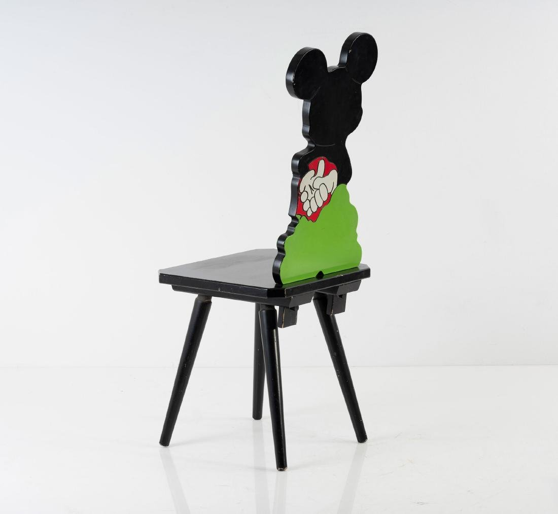 'Mickey Mouse' chair, 1980s - 4
