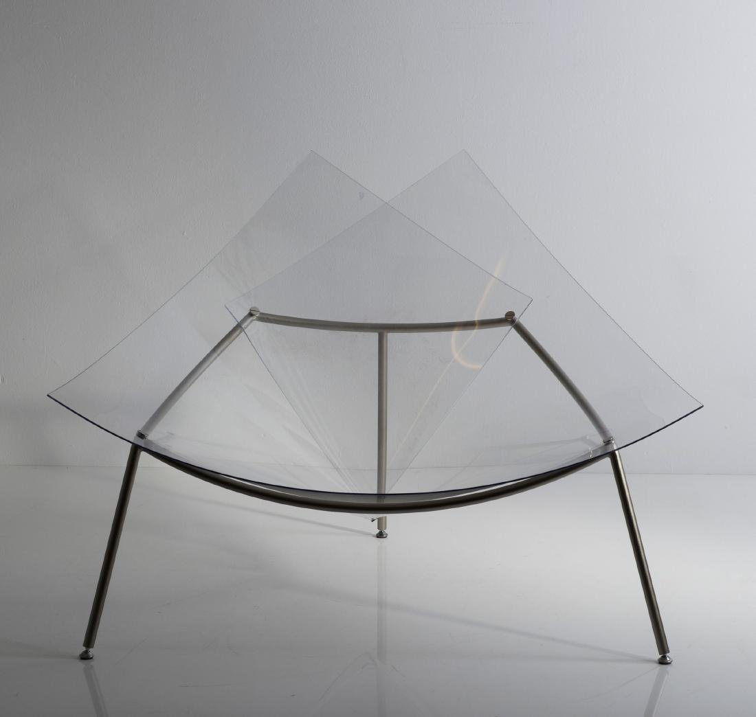 'Cone chair' with ottoman, 1998 - 5
