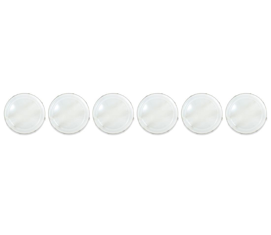Six sconces / ceiling lights 'Staff', c. 2000