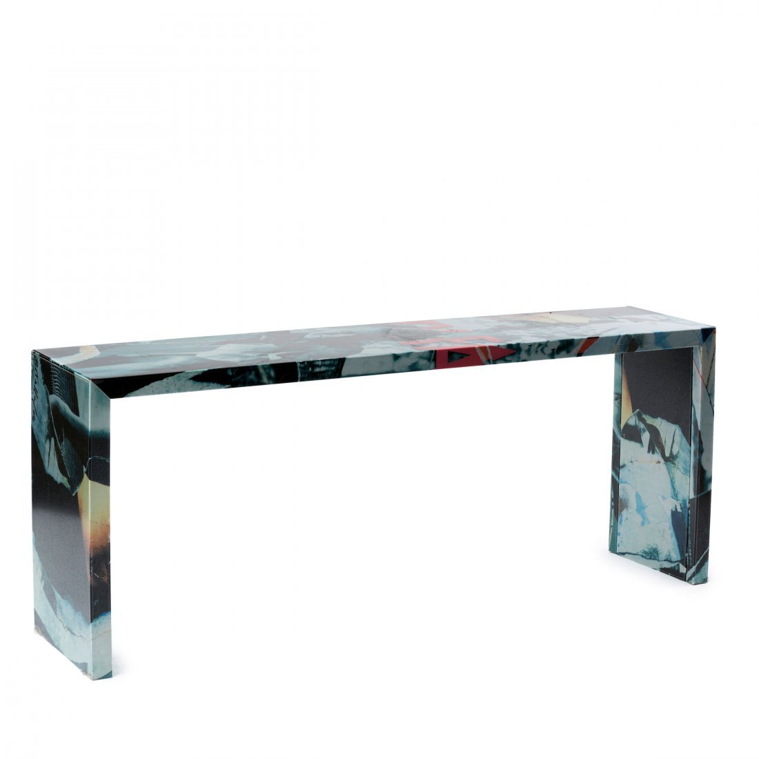 Console table from the 'Decollage' series, 2005