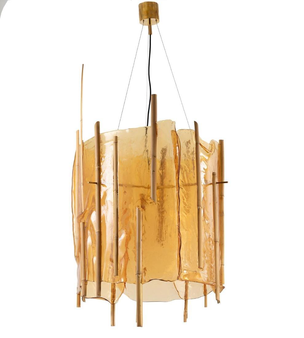 Unicum ceiling light from the 'Nativo Campana' series,