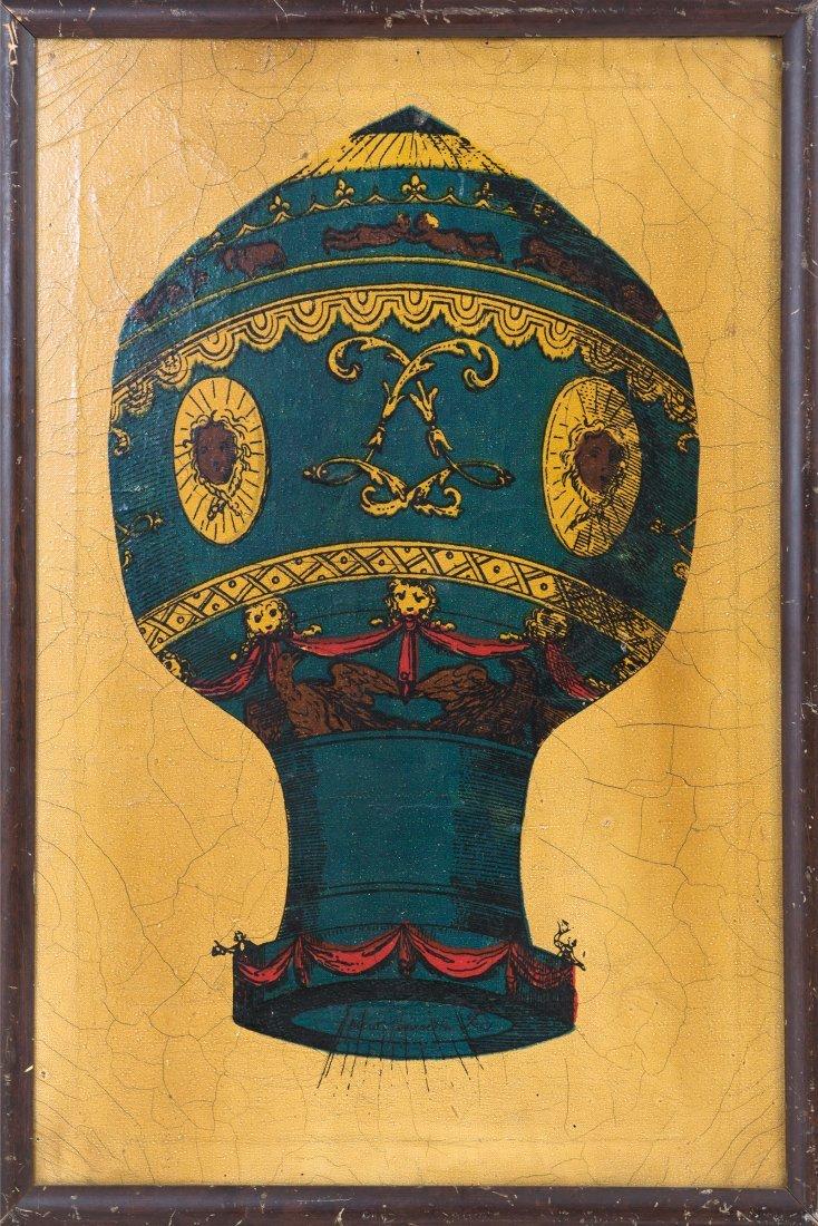 'Hot-Air Ballon', 1950s