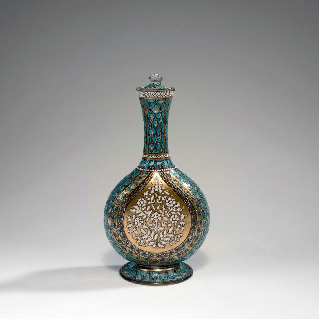 Flacon, dated 1883
