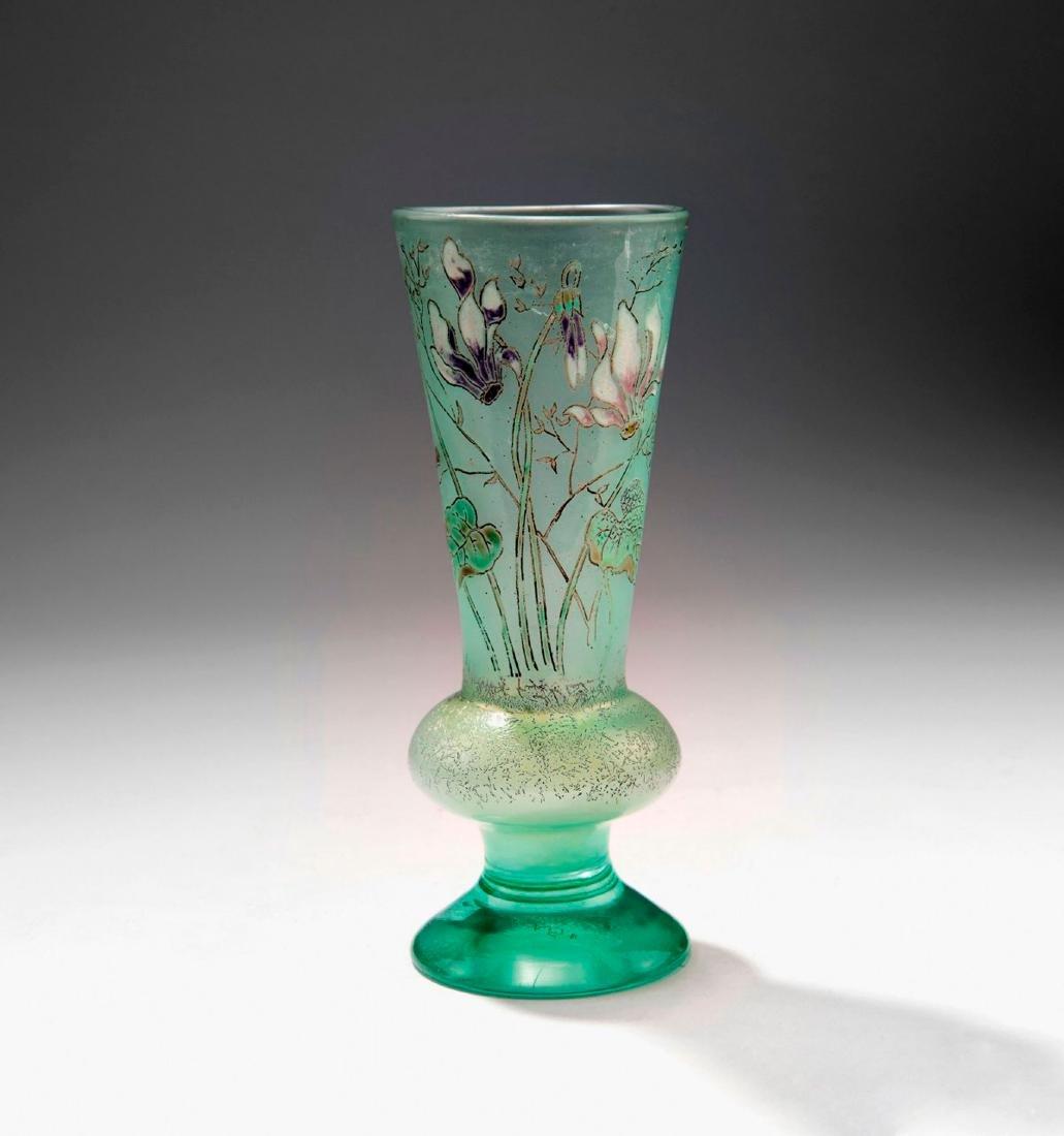 'Cyclamens' vase, c. 1890